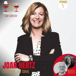 Joan Hertz Chairman ATB Financial Culture Uncorked Podcast