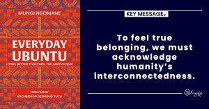 UBUNTU Belonging and Belongify